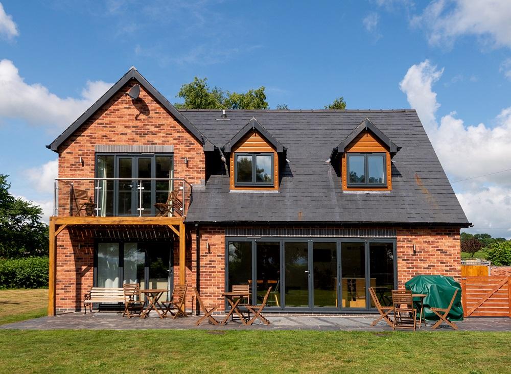 Birchfield, Hereford timber frame house