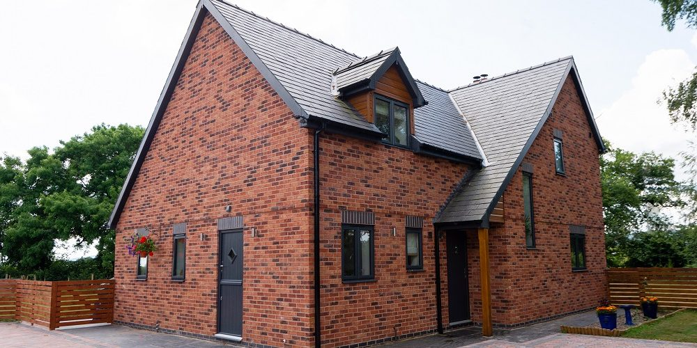 birchfield in hereford, a self build timber frame home won best self build for under £250k in the 2020 Build It Awards