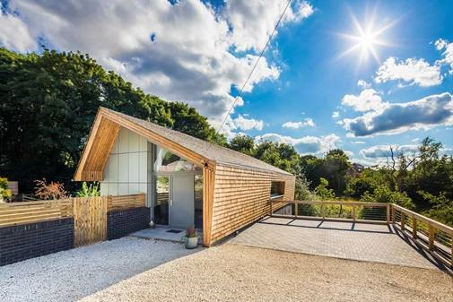 landmark timber frame house